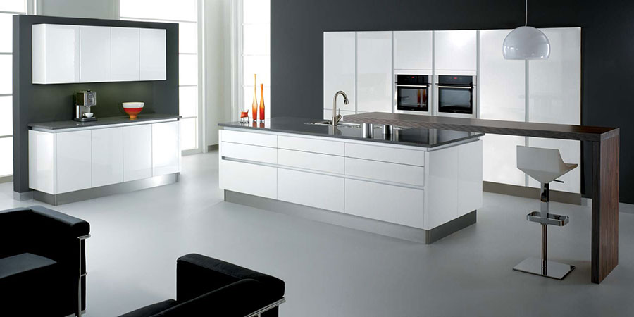 Devonports kitchens bathrooms in cambridgeshire for Modern kitchen design aluminium